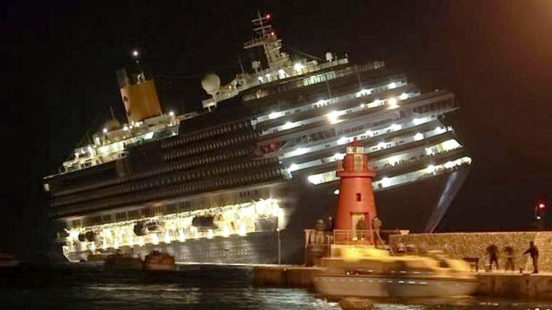 La fin de la croisière du Costa Concordia