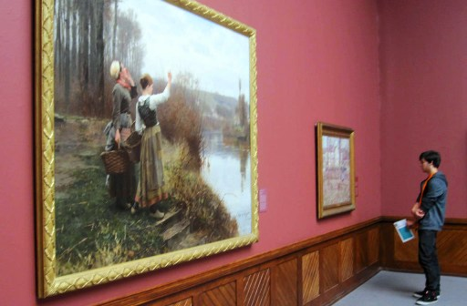 Musee de Philadelphie peinture de Daniel Ridgway Knight