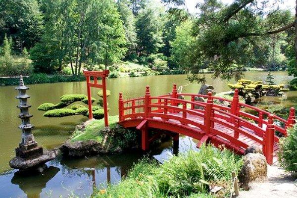 Parc Oriental de Maulévrier (Maine-et-Loire) France