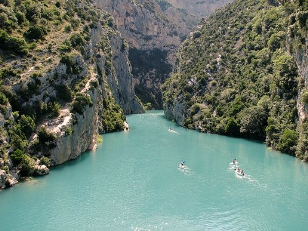 Gorges du Verdon (Alpes-de-Haute-Provence) France